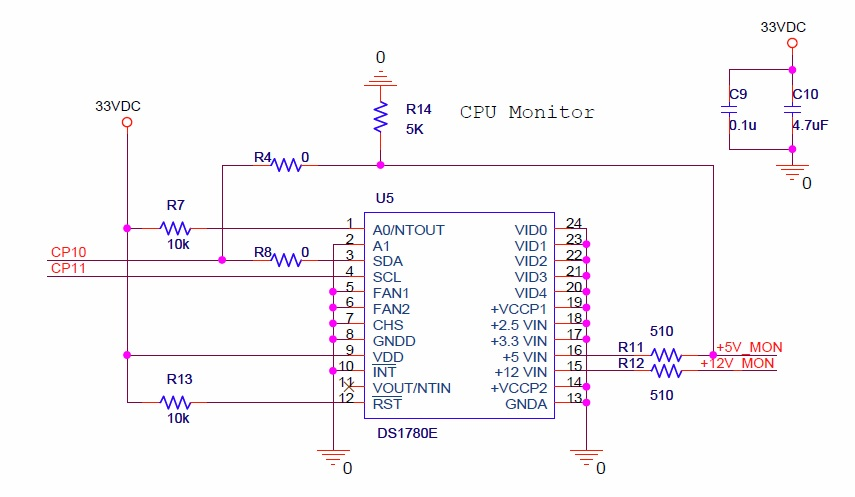 Hardware Monitor (schematic)
