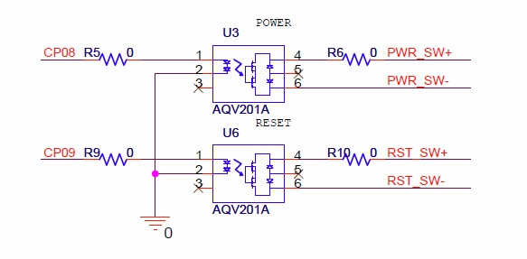 Solid State Relays (schematic)